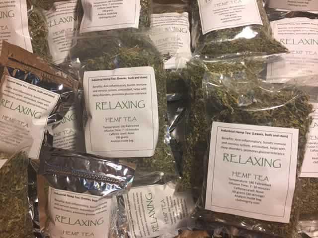 WOW! Organic Relaxing Hemp Tea Special Order – Hemp Tea And Hemp