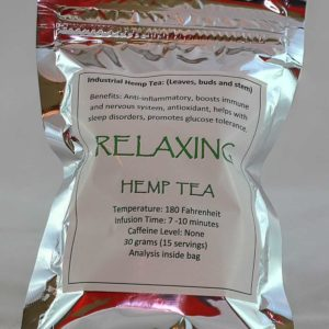 WOW! Organic Relaxing Hemp Tea 30g